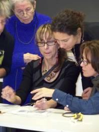 Atelier donné lors des Journées Québécoises de la Solidarité Internationale