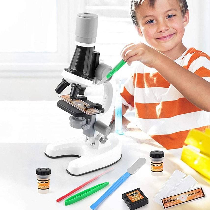 Детский настольный микроскоп SCIENTIFIC MICROSCOPE (Казахстан)