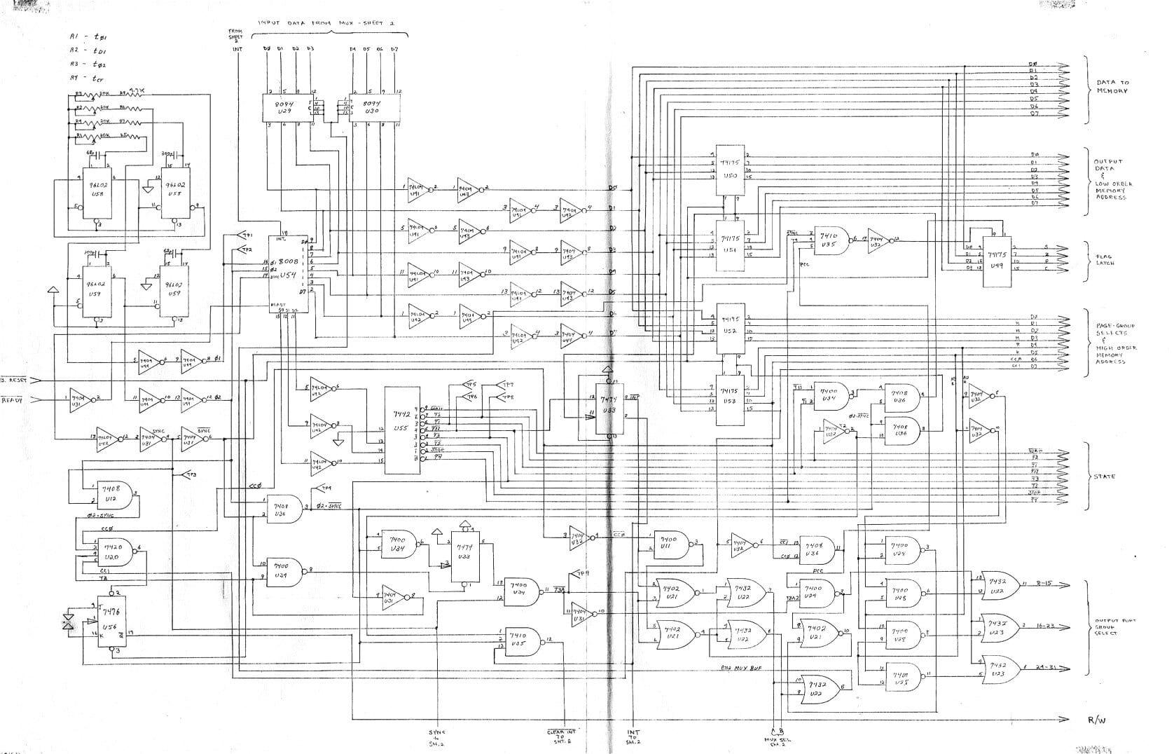 Homebrew Computer Schematics