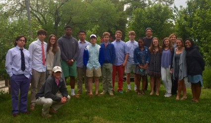 Episcopal High School visit to Micro Showcase May 2016