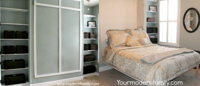 DIY Murphy Bed - Your Modern Family