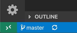 Quick actions status bar item