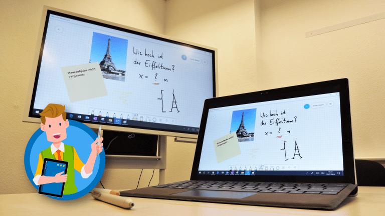 Microsoft Whiteboard - App für Windows 10