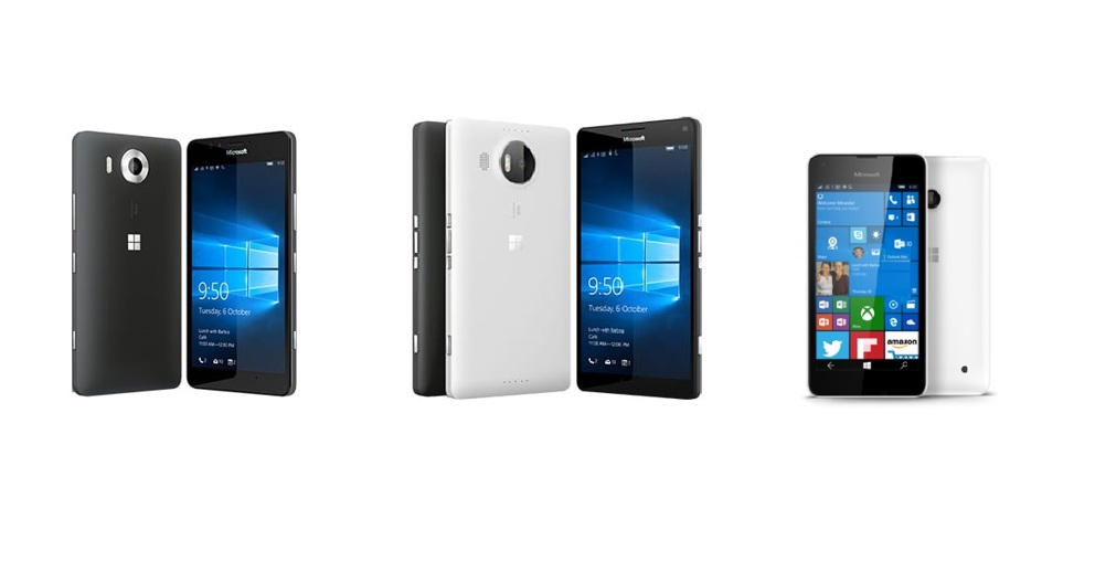 Where and How Much can you get A Lumia 950, 950 XL and 550 in Ghana
