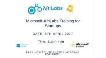 Register to Join the Microsoft-AfriLabs Training for Startups on Azure and BizSpark
