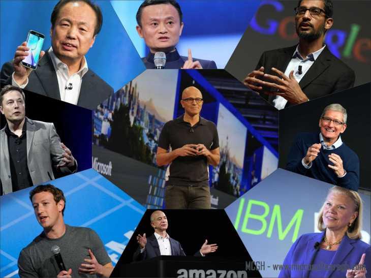 global tech giants