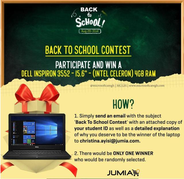 Jumia Back to School Contest