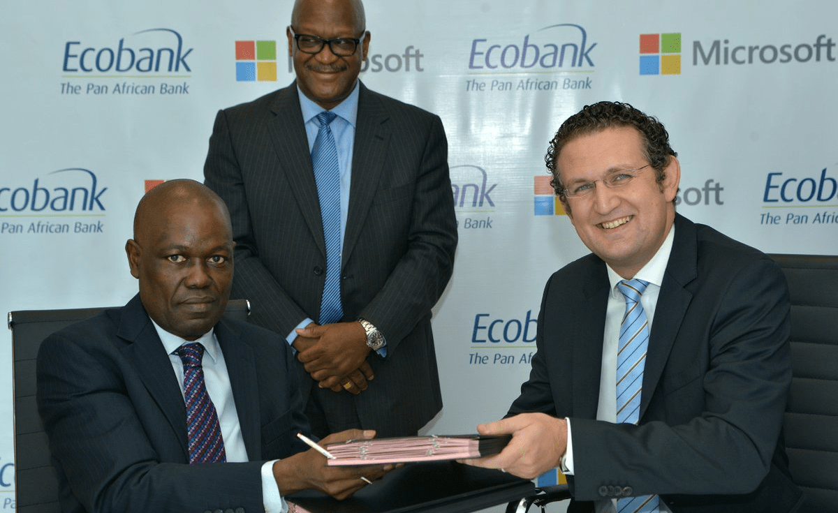 Using Microsoft's Power BI analytics service Ecobank improves business performance