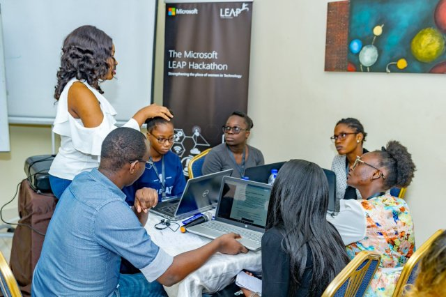 Data Analyst Microsoft Leap Lagos Nigeria