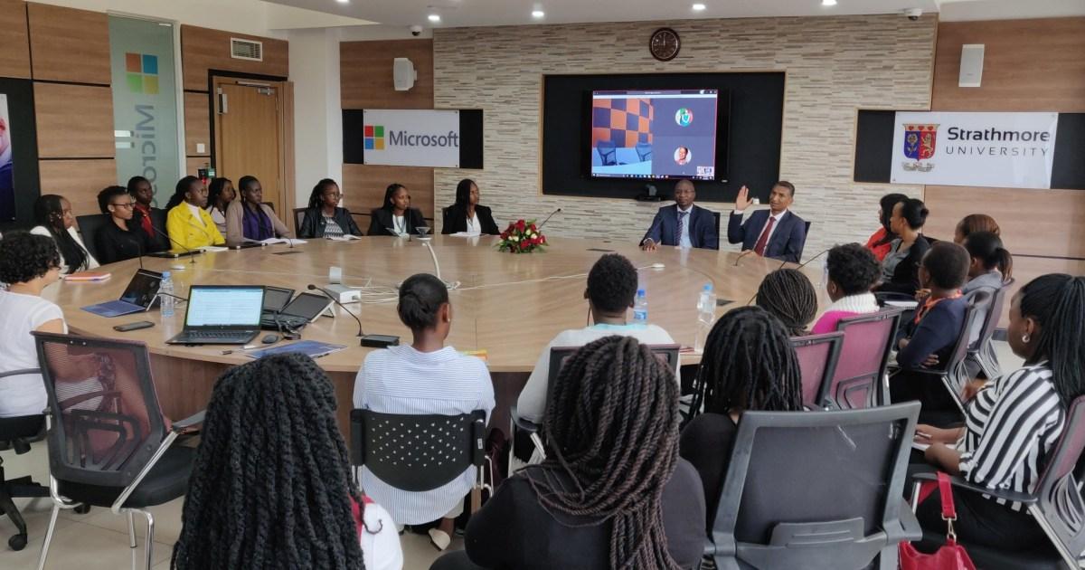 WISE4Afrika - Microsoft 4Afrika collaborates with Strathmore