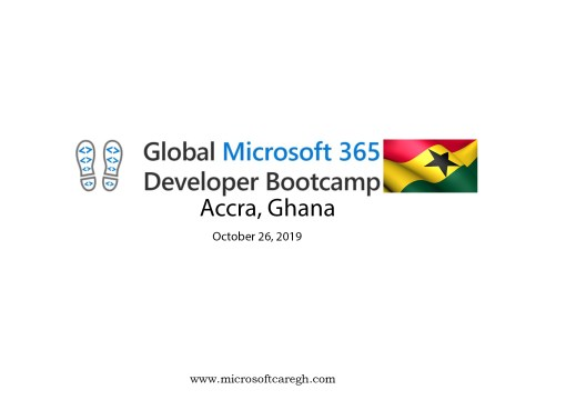 Microsoft 365 Developer Bootcamp
