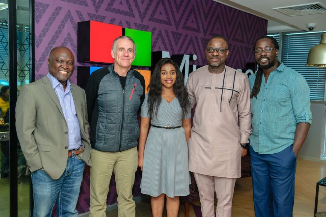Microsoft Africa pictures  LEAP apprenticeship program