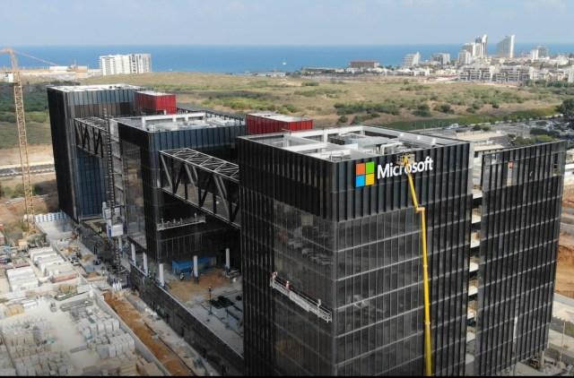 Microsoft campus Tel aviv