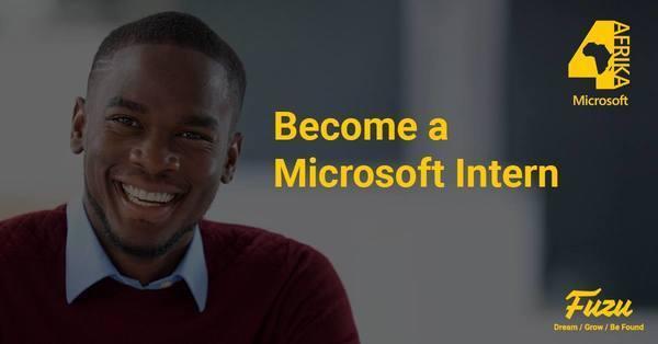 Microsoft Africa Middle East  interns4afrika internship