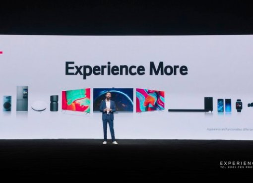 TCL experience more CES 2021 event
