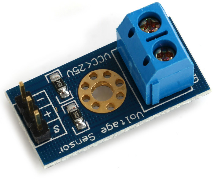 Voltage Sensor Module DC 0-25V | Microsolution