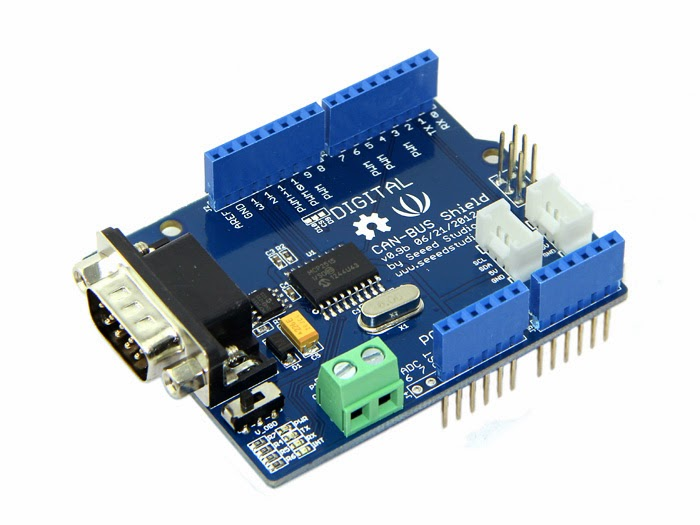 CAN BUS Shield Arduino Uno in Lahore Pakista | Microsolution