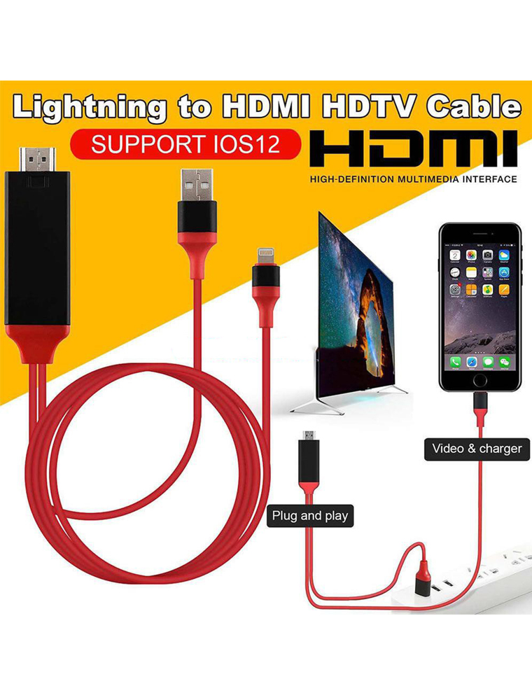 lighting to hdmi adapter cable lighting digital av adapter iphone to hdmi connector 6 6ft iphone hdmi adapter cord support 1080p hdtv for iphone x 8
