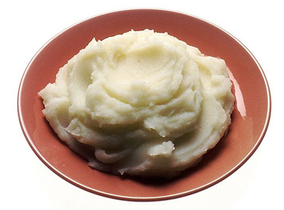 Microwave Mashed Potatoes