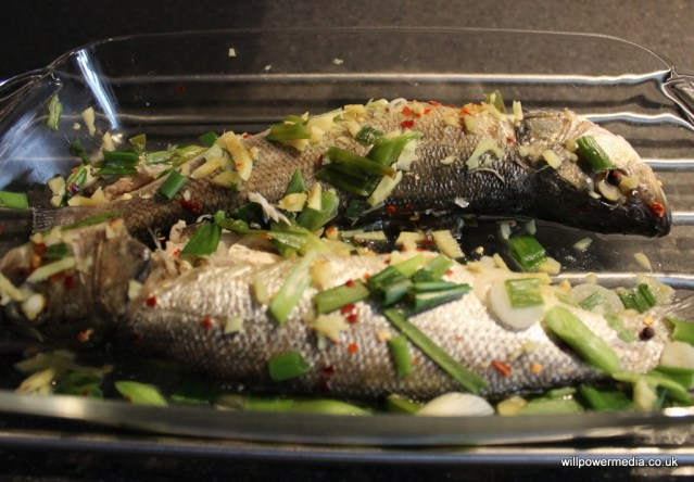 Microwave Sea Bass