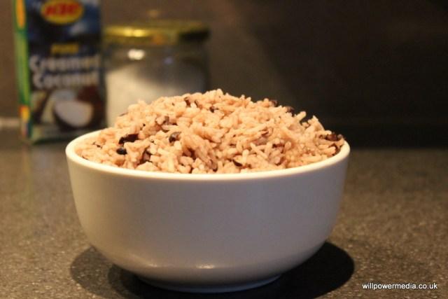 Microwave Rice and Peas
