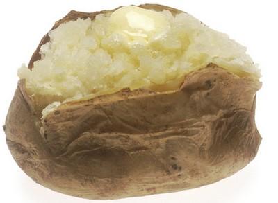 microwave jacket potato