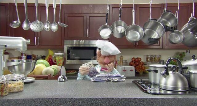 microwave popcorn swedish chef muppet show