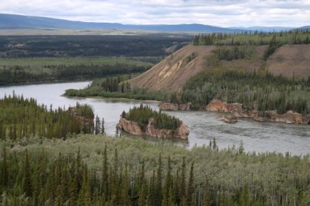 Five Fingers Rapids on the Yukon River
