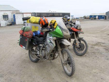 Dirty Bikes! - Deadhorse, AK