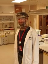 Salvatore trying to perform experiments in a safe way in the Neutron facility in the Oxfordshire