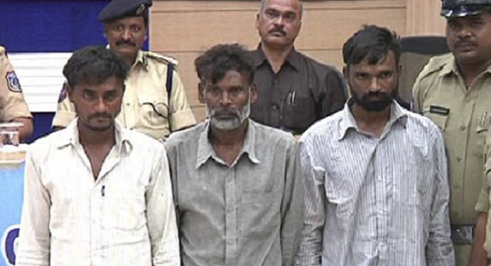 Hyderabad police arrested cheddi gang