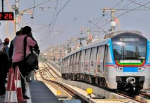 Telugu news hyderabad metro rail extended their services up to mid night