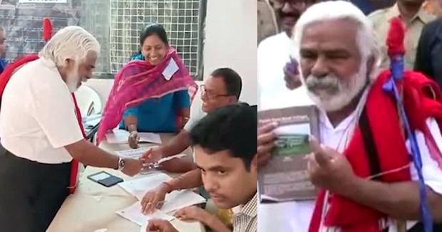 Telugu news Septuagenanrian to vote for first time in Telangana assembly ..