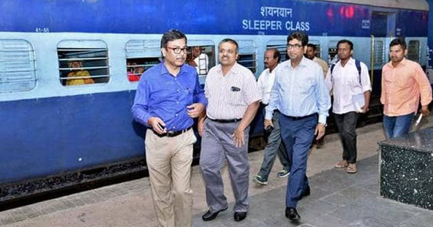 Telugu News Ticket Checking On-Board Trains goes Hi-Tech on SCR .