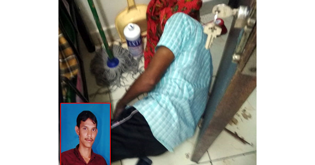 Telugu News nizamabad resident died in bahrain country due to less salary.