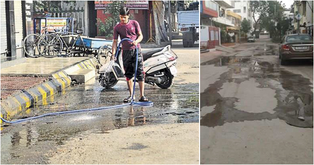 Telugu news Leaving the water on roads From 2 thousand to 2 lakh fine …