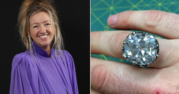 Telugu News After 30 Years Woman Realises The Glass Ring She Bought On Sale Was A Diamond Worth Rs 68 Crore.