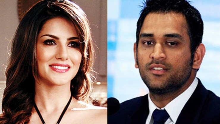 Sunny Leone has the sweetest reason why MS Dhoni is her favourite cricketer