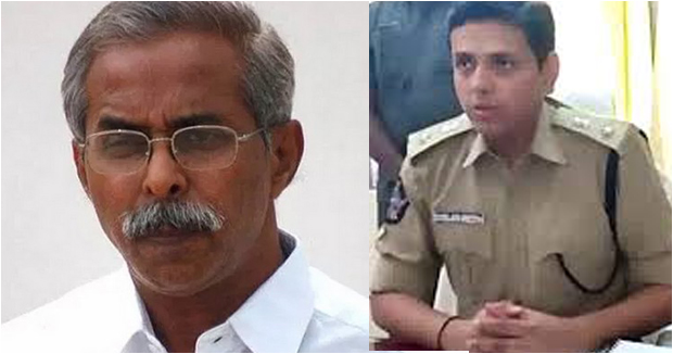 Kadap sp Rahul gives details about viveka letter before his murder driver.
