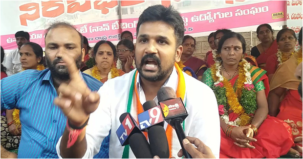 Telangana congress Krishank announced his resignation to party alleging not giving importance to youth leaders.