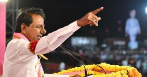 Trs leader and telangana cm kcr slam congress Rahul and bjp modi on country development and as for votes