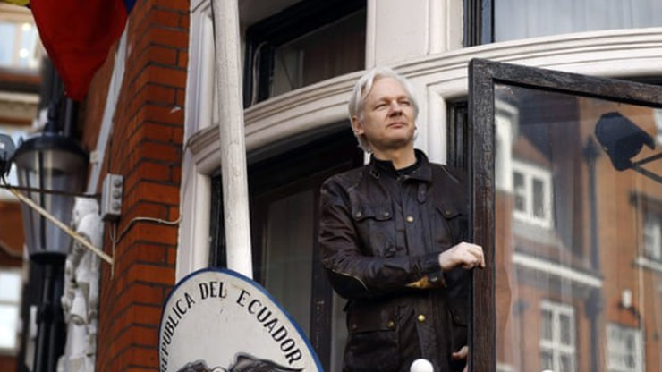 Julian Assange arrested at Ecuadorian embassy WikiLeaks founder arrested for alleged breach of bail at London embassy where he took refuge for seven years