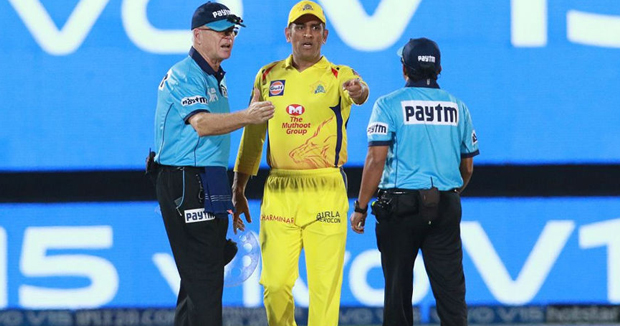 MS Dhoni let off with 50 per cent fine after angry reaction to umpire's call