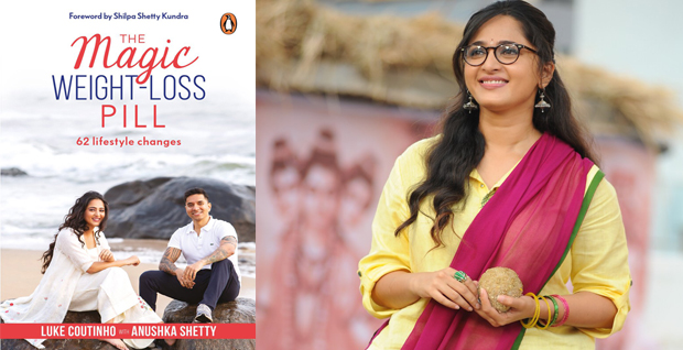 Anushka Shetty writes a book on her weight-loss secret.