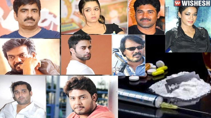 Tollywood drugs case All film personalities let off the hook.