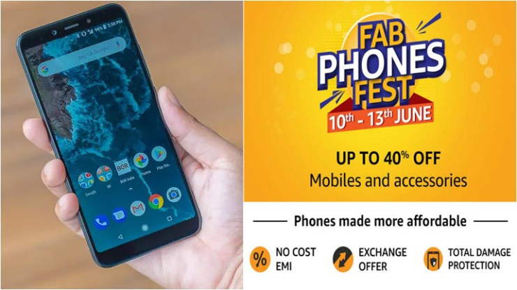 Amazon Fab Phones Fest Sale Best Offers OnePlus 6T, iPhone XR, Honor View 20 Discounts and Other Deals