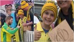 World Cup 2019 David Warner wins hearts, hands Player of the Match award to young fan