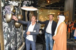 His Excellency Majid Saif Al Ghurair, Chairman, Dubai Chamber of Commerce and Industry at The Hotel Show