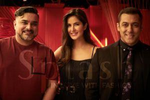 Raza Beig- CEO Splash and ICONIC and Director Landmark Group, Katrina Kaif and Salman Khan