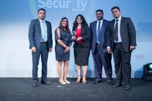 Team Paladion with the Managed Security Services Provider of the Year Award